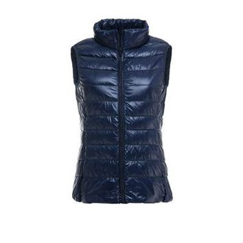 Women Fashion Duck Down Vest