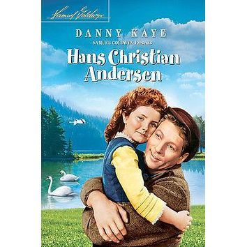 HANS CHRISTIAN ANDERSEN movie poster DANNY KAYE swans mountains girl  24X36