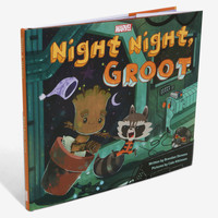 Marvel Guardians Of The Galaxy Night Night Groot Book