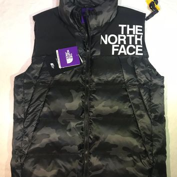 The North Face Men's Vest Winter Casual Sleeveless Jacket Down Vest Windproof Warm Waistcoat Casual Coats Size M-XXXL