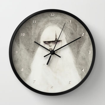 From the Other Side Wall Clock by Ben Geiger