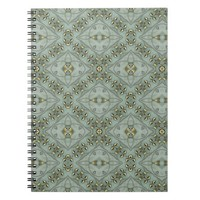 Victorian Golden Leaves Notebook