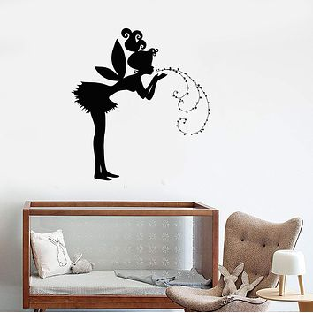 Wall Decal Fairy Tale Teen Girl Magic Art Room Vinyl Stickers Unique Gift (ig2868)