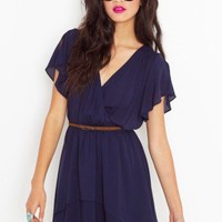 Tiered Wrap Dress - NASTY GAL