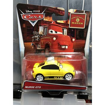 Disney Cars  Diecast 1:55 Scale Rescue Squad Mater Nurse GTO