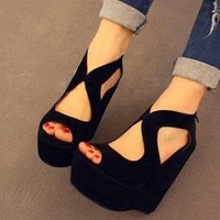 women high heels shoes sandal shoes = 5613026625
