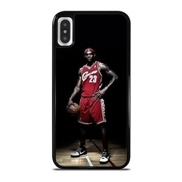 LEBRON JAMES CLEVELAND iPhone X Case Cover