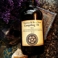 Compelling Oil, witchcraft, ritual oil ~ Confidence