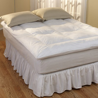 Restful Nights Down Alternative Fiber Bed Twin-Size Fiberbeds