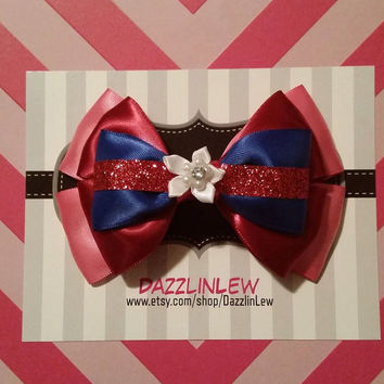 Match-maker Warrior Hair bow