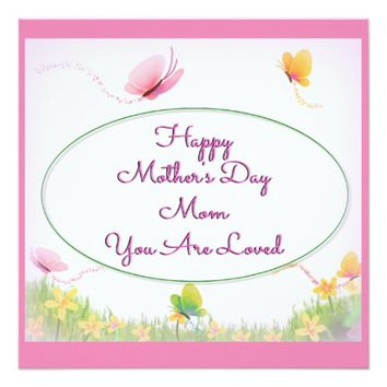 Mom You Are Loved Card