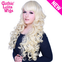 Gothic Lolita Wigs®  Duchess Elodie™ Collection - Platinum Blonde -00480