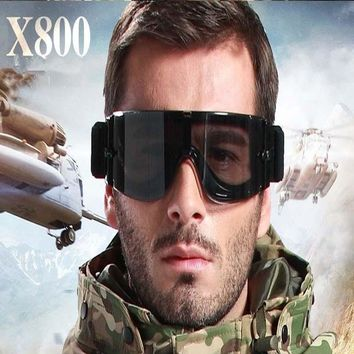 Safety Tactical Oculos Airsoft X800 Military Goggles Shooting Glasses Army Paintball Goggles Hunting Combat Protective Glasses