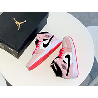 Air Jordan 1 Mid 2019 new female models personality wild basketball shoes