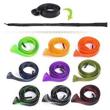 170cm Fishing Rod Cover Rod Sleeve Rod Fishing Tackle Sock Pole Glove Protector Tools Sea River Lake Pool with Bank Stick