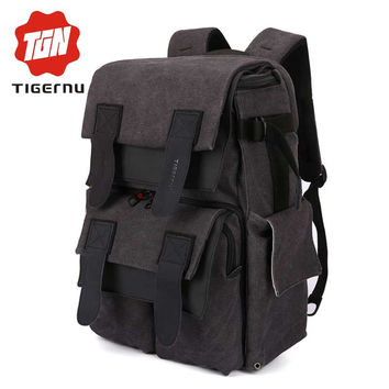 Tigernu Fashion Men&Women Travel Leisure high quality Photography Camera Bag Business Casual Laptop Computer Notebook Backpack