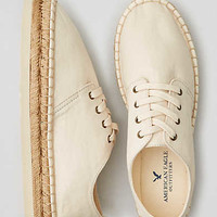 AEO LACE-UP PLATFORM ESPADRILLE