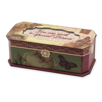 Vintage Rose Petite Special Person Musical Jewelry Box - Perfect Friendship Gift