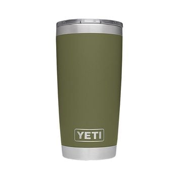 20 oz. DuraCoat Rambler Tumbler in Olive Green by YETI