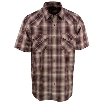 Frontier Brown Plaid