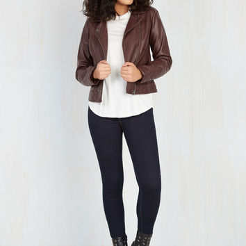 Jack by BB Dakota Straight Scooter Jacket | Mod Retro Vintage Jackets | ModCloth.com