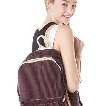 Brandy ♥ Melville |  John Galt Striped Backpack - Bags - Accessories