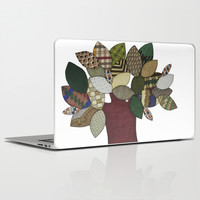 Tree and Sheep Laptop & iPad Skin by Erin Brie Art