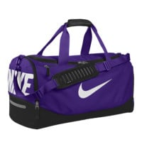 Nike Team Training Max Air iD Duffel Bag (Medium) (Purple)