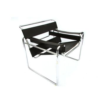 Pre-owned Dark Brown Marcel Breuer B3 Wassily Club Chair