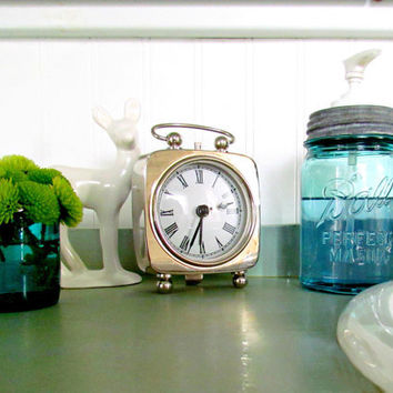 Antique Blue Mason Jar Soap or Lotion Dispenser with Authentic Zinc Lid