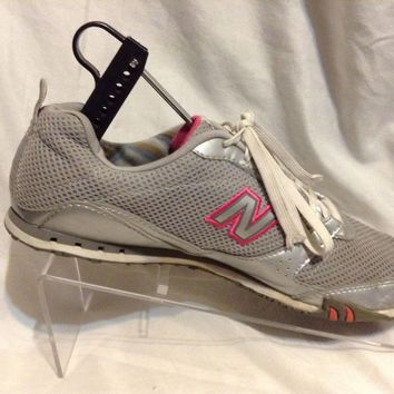 New Balance Trainers wa460sp Silver & Pink, Women's Running Tennis Shoes Sz 9.5
