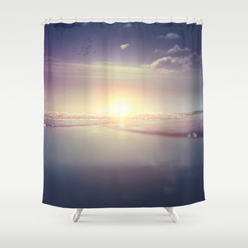 Fuel Shower Curtain by HappyMelvin