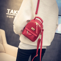 LEFTSIDE 2016 Mini backpacks for girls back bag women PU leather Small pretty shoulder bag feminine backpack bolsas femininas