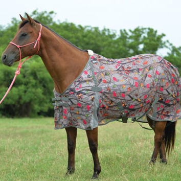 Saddles Tack Horse Supplies - ChickSaddlery.com Cashel Crusader Eco Fly Sheet - Hot Leaf Camo