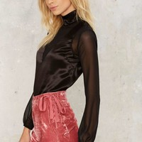 Woman Crush Velvet Shorts
