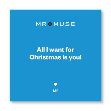 Gift Note, Tissue & Gift Box | All I Want For Christmas Is You!