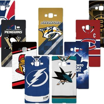 NHL Hockey Team Cover For iphone X 4 4S 5 5S SE 5C 6 6S 7 8 Plus For iPod Touch 5 6 Hard Phone Case Capa Coque Fundas Bumper