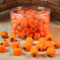 Halloween Pumpkin Tarts Scented in Sweet Candy Corn, Halloween Decor, Fall Decor