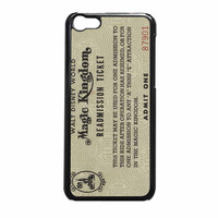 Disney World Readmission Ticket iPhone 5c Case