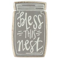 Bless this Nest Jar Wood Magnet | Hobby Lobby | 1134899