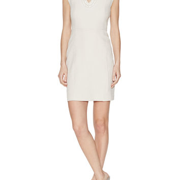 Victoria Embellished Sheath Dress
