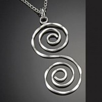 Spiral S Necklace