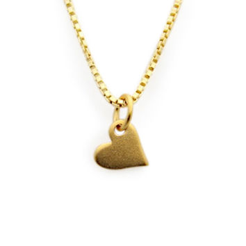jenny present®| Little Gold Heart Necklace