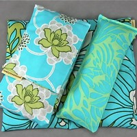 3 PC Neck Wrap Back Pack Eye Pillow Gift Set by ComfyCreations