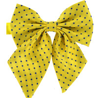 Tok Tok Designs Women's Pre-Tied Bow Tie (W3, Yellow)