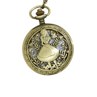 Disney Alice In Wonderland Pocket Watch