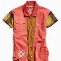 Lucid FC Plaid Chore Jacket | Urban Outfitters