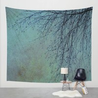 Hanging Tree - JUSTART © Wall Tapestry by JUSTART * Syl
