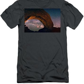 Star Gazing - Men's T-Shirt (Athletic Fit)