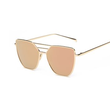 Cat Eye Mirror Sunnies